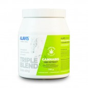 ALAVIS™ Triple Blend Extra silný + Cannabis CBD Extrakt 700 g