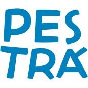 Pestrouš - charitativní hračka prodávaná jménem  Pestrá o.p.s. IČO: 28525973